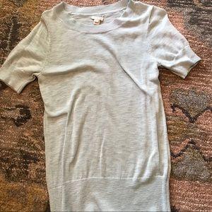 J crew factory short sleeve sweater size medium